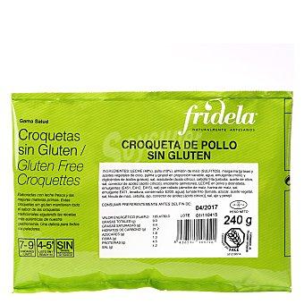 Fridela Croquetas de pollo sin gluten Caja 240 g