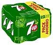 Refresco con gas lima-limón Pack 9 lata x 33 cl 7Up