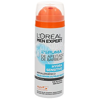 L'Oréal Men expert espuma de afeitar piel sensible Spray 200 ml