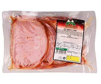 MONTEVALLE Fiambre de lomo especial en filetes 700 Gramos