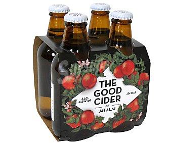 Jai-Alai Sidra de manzana The Good Cider Pack 4x25 cl