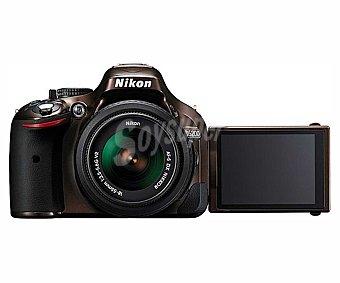 "NIKON D5200 Cámara Réflex + Objetivo 18-55mm 24,1 Megapixeles, alta deficicion, pantalla de 3"" Abatible"
