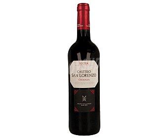 Castillo San Lorenzo Vino tinto crianza con denominación de origen Rioja Botella de 75 cl
