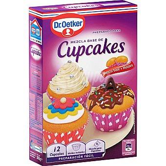 DR.OETKER Preparado para cupcakes incluye mezcla base y moldes envase 300 gr (12 unidades)