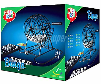 RIK & ROK Bingo Manual Metálico  1u