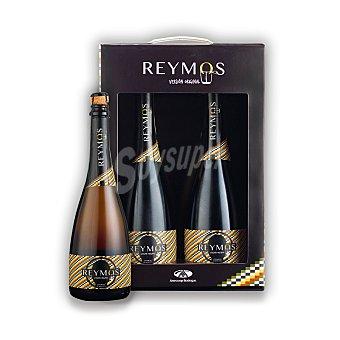 Reymos Lote 110: Estuche de vino espumoso de Moscatel de Alejandría Pack 2x75 cl