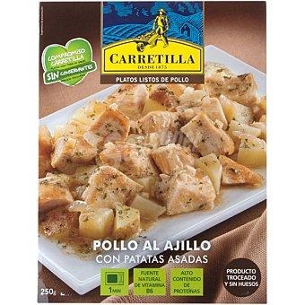 Carretilla Pollo al ajillo 250GR