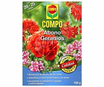 Compo Abono granulado especial para geráneos 750 granos