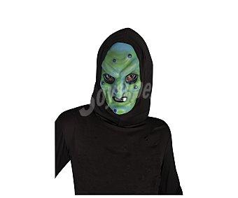 Haunted house Máscara de bruja con capucha, Halloween Máscara bruja