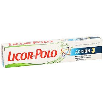 Licor del Polo Pasta dentífrica acción 3 protección completa Tubo 75 ml
