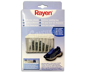 Rayen Malla acolchada especial para cuidar el calzado en la lavadora 1u