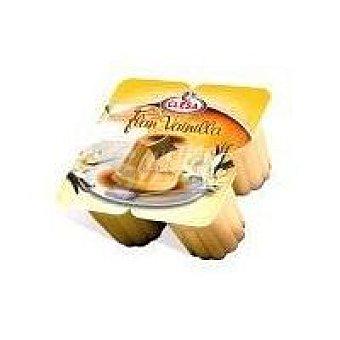 CLESA Flan de vainilla Pack 4x105 g
