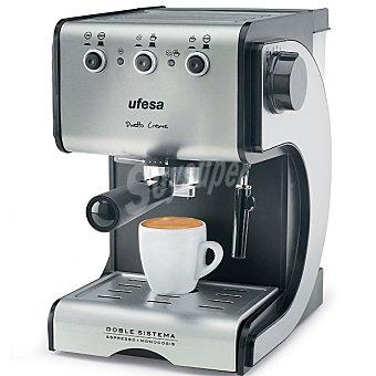 UFESA CE7141 Cafetera espresso de bomba Duetto Creme