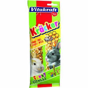 Kräcker Vitakraft Barritas de miel para conejos enanos Pack 1 unid