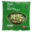 Salteado de judías-brócoli-champiñones Bolsa 450 g Eroski