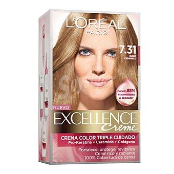 Excellence L'Oréal Paris Tinte creme nº 7.31 Rubio Caramelo 1 ud