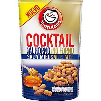 Matutano Cocktail Frutos Secos tostados al horno con Sal y Miel 100 g