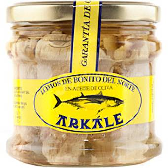Arkale Lomo de bonito en aceite de oliva Frasco 400 g