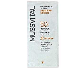 Mussvital Fotoprotector facial FP50 (protección muy alta) 50 Mililitros