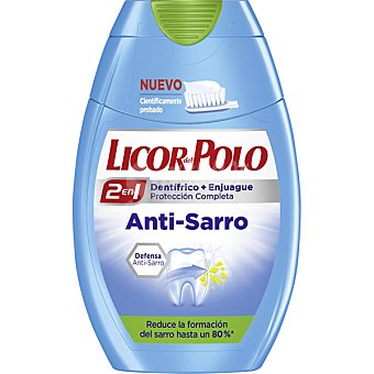 Licor del Polo Dentifrico con elixir 2 en 1 Anti-Sarro bote 75 ml Bote 75 ml