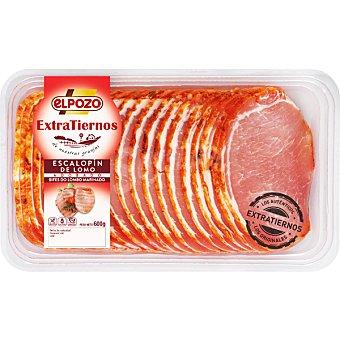 ElPozo Lomo adobado tierno de cerdo blanco Bandeja 600 g
