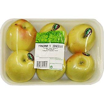 Manzanas verde doncella Bandeja 1 kg peso aproximado