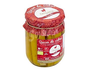 Sujaira Queso curado de cabra en aceite de oliva virgen extra ecológico 260 gramos