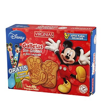 Virginias Galletas sin gluten y sin lactosa Disney 105 g