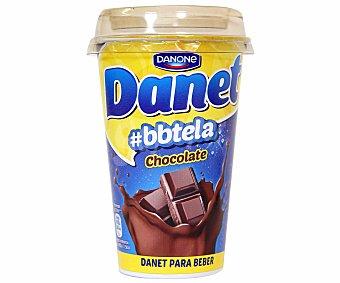 DANONE DANET natillas para beber sabor chocolate  envase 224 g
