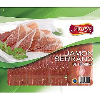 ARROYO jamón serrano de hembra  envase 300 g