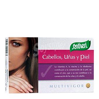 Santiveri Multivigor cabello-uña-p comprimidos 33 g