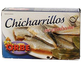 Orbe Chicharillos en escabeche 87 gramos peso neto escurrido