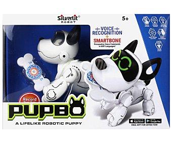 SILVERLIT Pupbo Pupbo, perro robot radiocontrol con reconocimiento de voz, SILVERLIT.