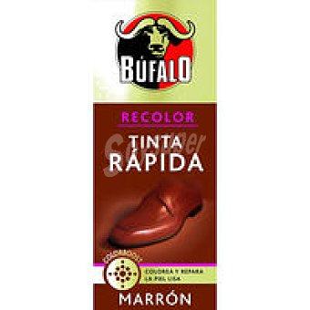 Bufalo Tinta rápida color marrón Bote 30 ml