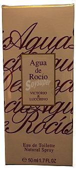 AGUA ROCIO Eau toilette mujer rocio (vaporizador) Botella de 50 cc