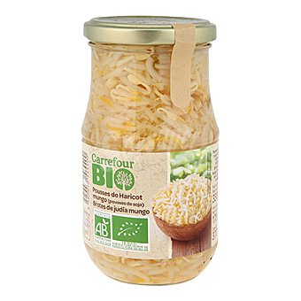 Carrefour Bio Brotes germinados de judías mungo 175 g