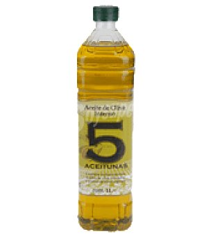 5 Aceitunas Aceire de oliva intenso 1 l
