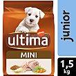Alimento para perros mini junior Bolsa 1,5 kg Ultima Affinity