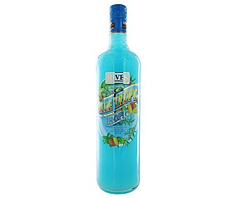 Rives Licor concentrado Blue Tropic sin alcohol  Botella 1 l