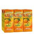 Zumo de naranja Pack de 6 briks de 20 cl Simon Life