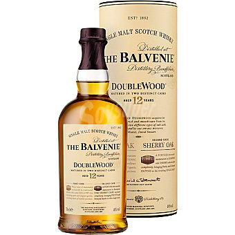 The Balvenie Whisky de malta escocés 12 años 70 cl