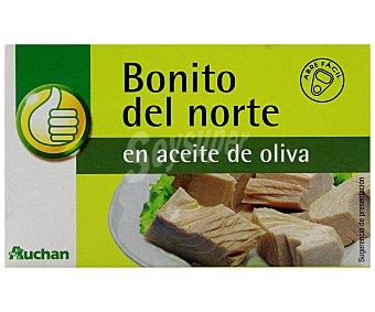 Productos Económicos Alcampo Bonito del norte en aceite de oliva 72 gramos