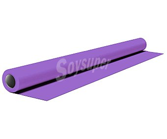 GABBIANO Mantel de papel color lila en rollo, 1,20x5 metros iberia
