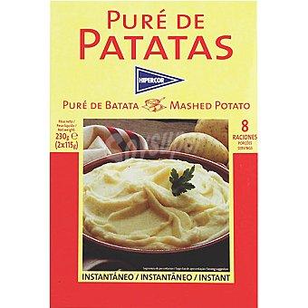 Hipercor Puré de patata Estuche 230 g