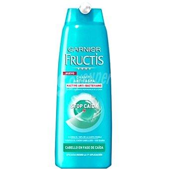 Fructis Garnier Champú anticaspa Stop Caída anti-bacteriano para cabello en fase de caída Frasco 300 ml