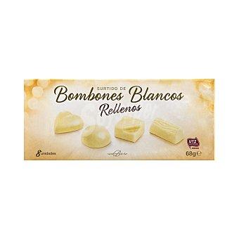 Vandenbulcke Bombon surtido chocolate blanco rellenos Caja 68 g (8 u)