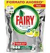 Lavavajillas limón 42 unidades Fairy Platinum
