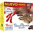 Barrita cereales biscuit moments chocolate Pack de 5x25 g Kellogg's