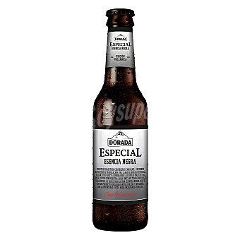 Dorada Cerveza negra especial Edición Volcánica Botella 33 cl