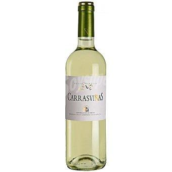 CARRASVIÑAS Vino blanco verdejo D.O. Rueda Botella 75 cl